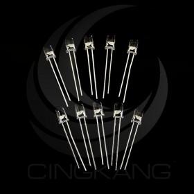LED 5mm 單閃 透明紅光 2.2V (10PCS/入)