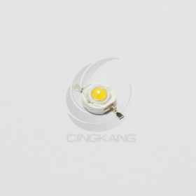 LED燈珠1W-110~120LM 白色發暖白光 2.5V