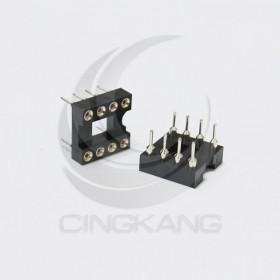 8PIN 窄形圓孔 IC座(5入)
