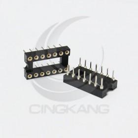 14PIN 窄形圓孔 IC座(5入)
