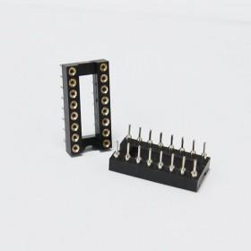 16PIN 窄形圓孔 IC座(5入)