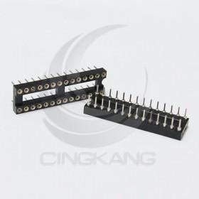 28PIN 窄形圓孔 IC座(5入)
