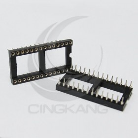 28PIN 寬形圓孔 IC座(5入)