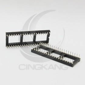 40PIN 寬形圓孔 IC座(5入)