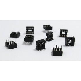 8PIN 窄形方孔 IC座(5入)
