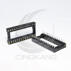 28PIN 寬形方孔 IC座(5入)