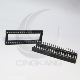 40PIN 寬形方孔  IC座(5入)