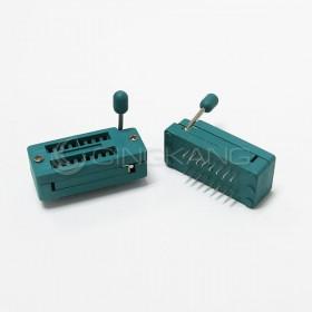 16PIN 窄形 IC測試座