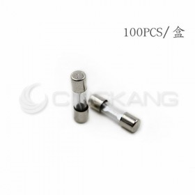 20mm 15A 250V 玻璃保險絲 鐵頭 (100PCS/盒)