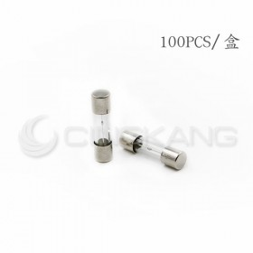 20mm  5A  250V 玻璃保險絲 慢熔型(100入)