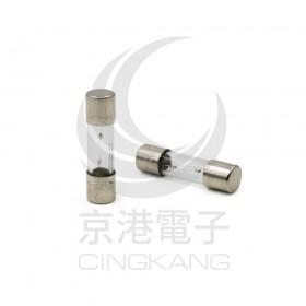 20mm  1.6A 250V 玻璃保險絲 慢熔型(2入/包)