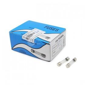 30mm  0.5A 250V 玻璃保險絲 慢熔型(100PCS/盒)