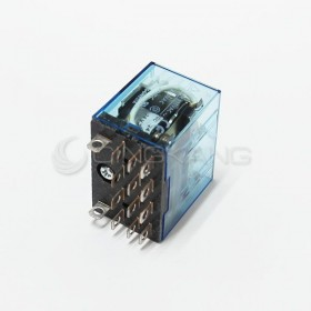 OMRON LY4N-J DC24V 10A28VDC 14PIN 繼電器