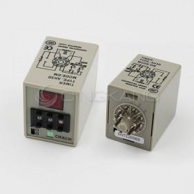 數位型多段限時繼電器 AH3D-DM 24VDC(0.1~99小時)