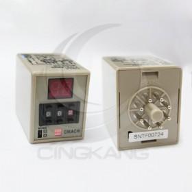 數位型多段限時繼電器 AH3D-DM 220VAC(0.1~99小時)