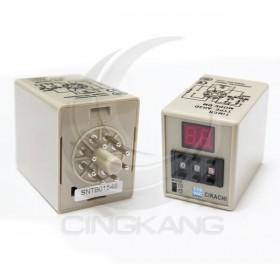 數位型多段限時繼電器 AH3D-DM 110VAC(0.1~99小時)