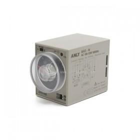 ANLY AH3-NB限時繼電器 3S-30M可調 110VAC