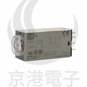 OMRON H3Y-2-C AC220V 60S 小型計時器