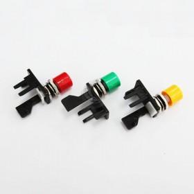 微動開關壓釦 小頭塑膠-紅色VAQ-4-R