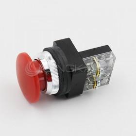 30 大頭按鈕-紅 1b (傳統型)
