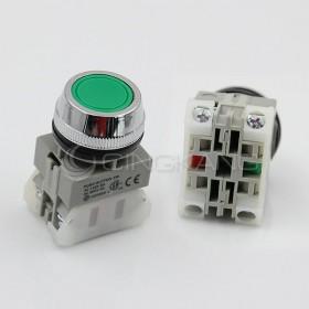 AP 平頭按鈕-綠(#30)  1A1B / 2A / 2B