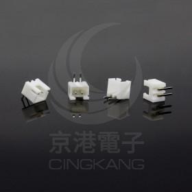 XH2.5-2P 公連接器 彎針 (20入)