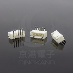 XH2.5-5P 公連接器 彎針 (20入)