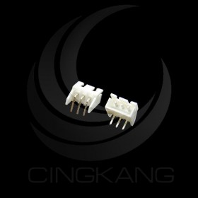 XH2.5-3P 公連接器(帶耳) 彎腳 (20入)