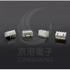 XH2.5-4P 公連接器 彎針 (20入)