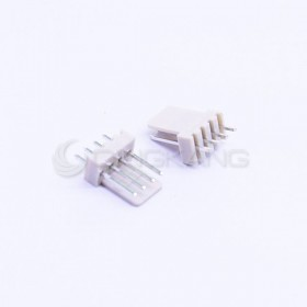 Molex 2.54連接器-4P 公插頭 (20入)