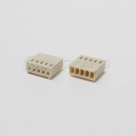 Molex 2.54連接器-5P 母插頭 (20入)