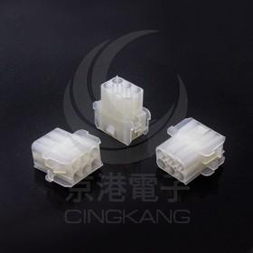 AMP 2.1-6P 母連接器 間距6.35 (20入)