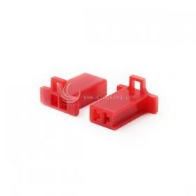 110型連接器-2P 2.80mm 公頭 紅色(20入)