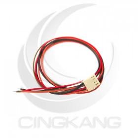 Molex 2.54mm 4P 單頭母頭連接器帶線 40CM