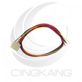 Molex 2.54mm 6P 單頭母頭連接器帶線 40CM