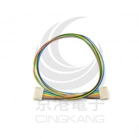 Molex 2.54mm 7P 雙頭母頭連接器帶線 45CM