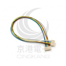 Molex 2.54mm 8P 雙頭母頭連接器帶線 45CM 穿交叉