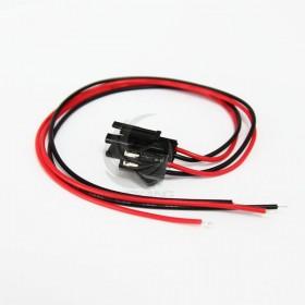 SM2.5-2P 對插連接線 總長30cm 一組(公vs母)