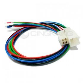 4P連接器 公+母+線 (適用汽機車、機械)