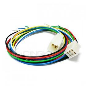 6P連接器 公+母+線 (適用汽機車、機械)