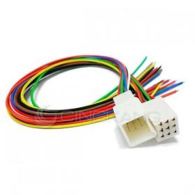 9P連接器 公+母+線 (適用汽機車、機械)