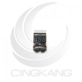 1-8S 二合一低電壓顯示器附BB響警報器