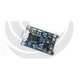 18650鋰電池充電板(MicroUSB)帶保護 TP4056