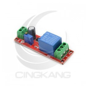12V電源觸發延時斷電繼電器模組(1s~10s)