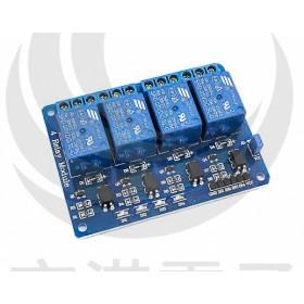 5V 4路繼電器模組