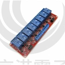 24V 8路繼電器高/低電平驅動板(H:8.5~24V/L:0~8v)