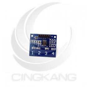 4路電容式觸控模組