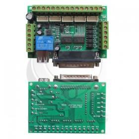 MACH3 電機驅動5軸器接口帶光耦隔離