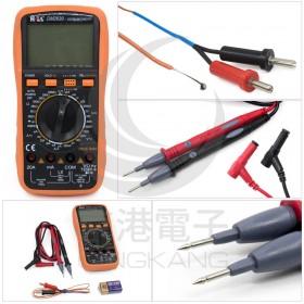 DM-2630 大字幕數字電錶(背光+LCR+頻率+溫度)