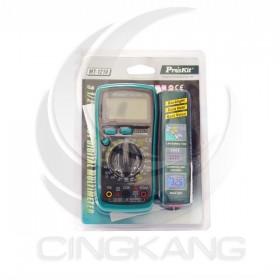 prosKit 寶工 MT-1210 3 1/2經濟款數位電錶 附晶體測試.背光